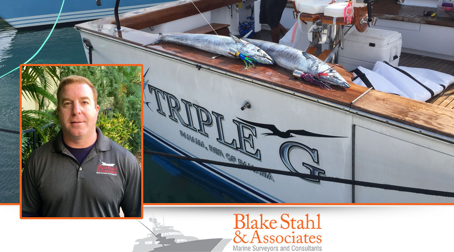 Blake R. Stahl, Accredited Marine Surveyor #943